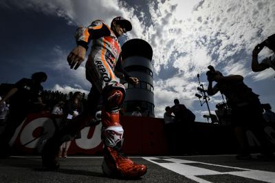 Raising the stakes: Marquez aiming for perfect 10 in Germany