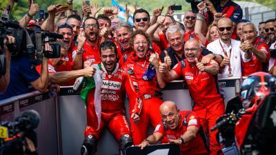 Ducati Team anuncia la renovación de Petrucci para 2020