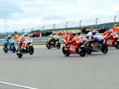 Who was the last non-Honda rider to win at the Sachsenring?