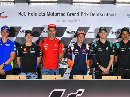 Off-Track, HJC Helmets Motorrad Grand Prix Deutschland