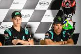 Fabio Quartararo, Franco Morbidelli, Petronas Yamaha SRT, HJC Helmets Motorrad Grand Prix Deutschland