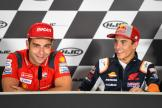 Danilo Petrucci, Marc Marquez, HJC Helmets Motorrad Grand Prix Deutschland