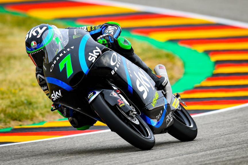 Dennis Foggia, Sky Racing Team VR46, HJC Helmets Motorrad Grand Prix Deutschland