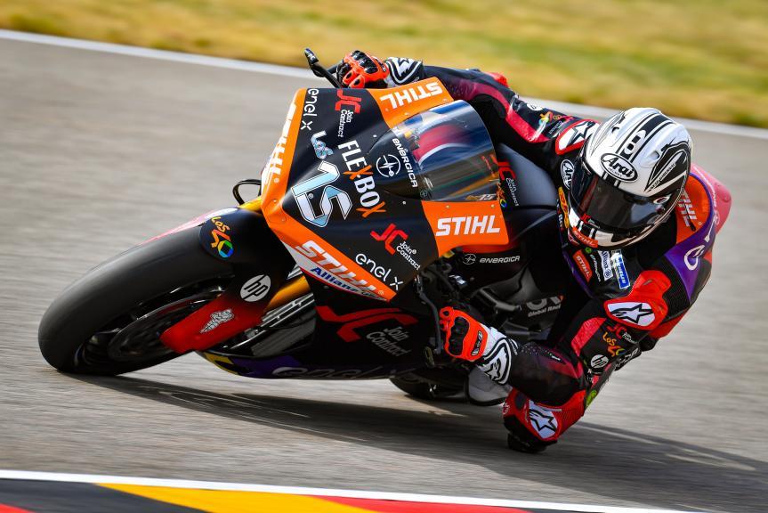 Sete Gibernau, Join Contract Pons 40, HJC Helmets Motorrad Grand Prix Deutschland