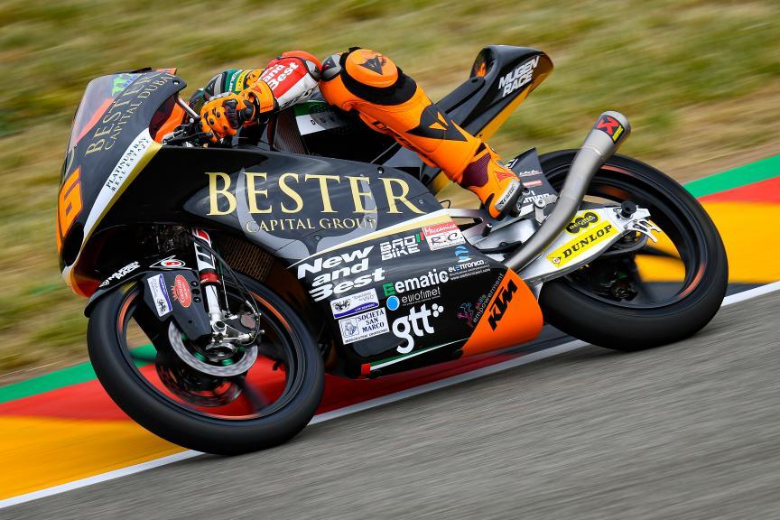 Andrea Migno, Bester Capital Dubai, HJC Helmets Motorrad Grand Prix Deutschland