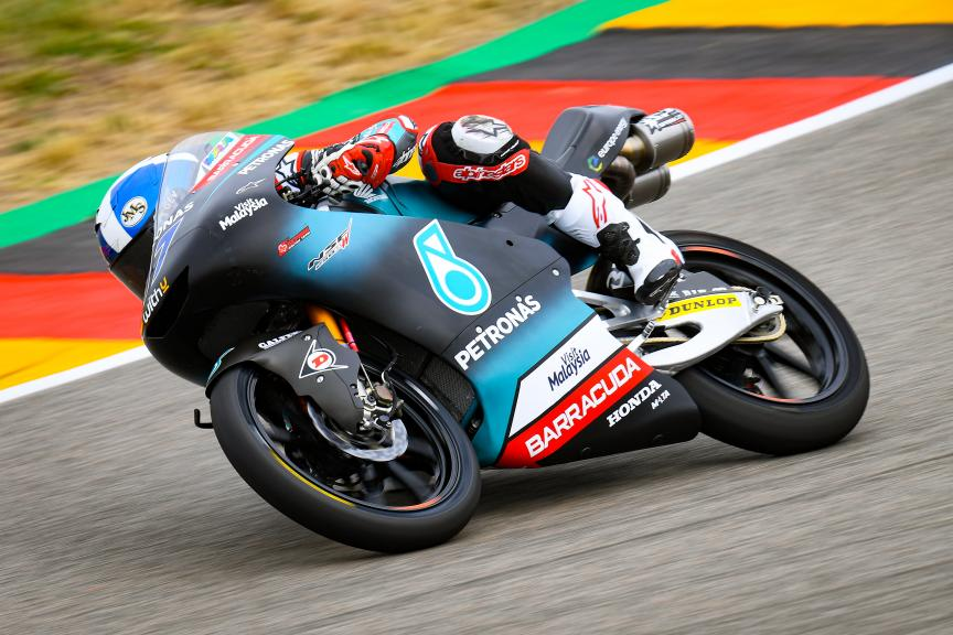 John McPhee, Petronas Sprinta Racing, HJC Helmets Motorrad Grand Prix Deutschland