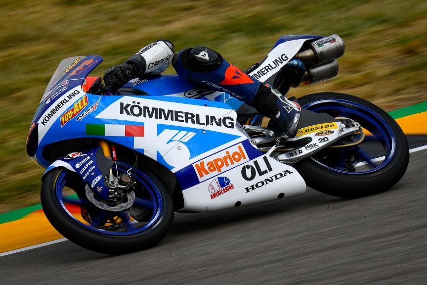 Gabriel Rodrigo, Kőmmerling Gresini Moto3, HJC Helmets Motorrad Grand Prix Deutschland