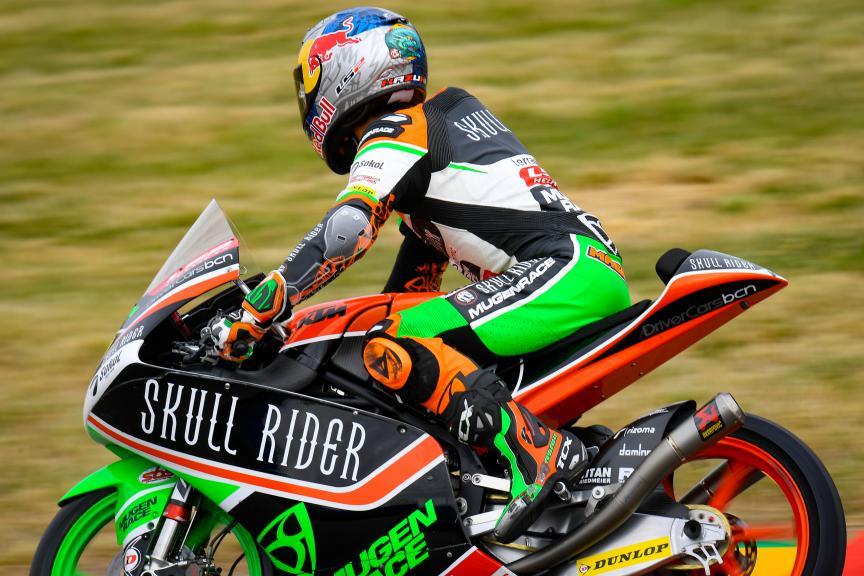 Kazuki Masaki, Boe Skull Rider Mugen Race, HJC Helmets Motorrad Grand Prix Deutschland