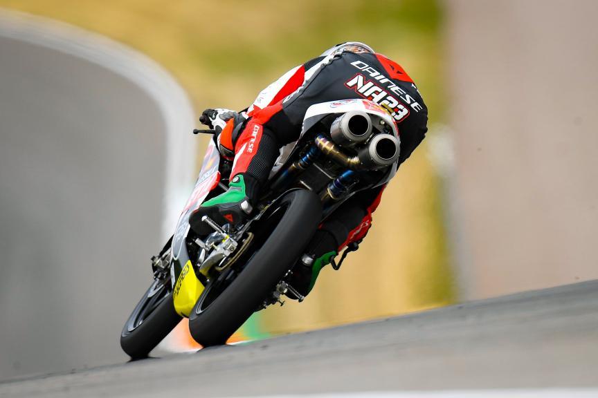 Niccolo Antonelli, SIC58 Squadra Corse, HJC Helmets Motorrad Grand Prix Deutschland
