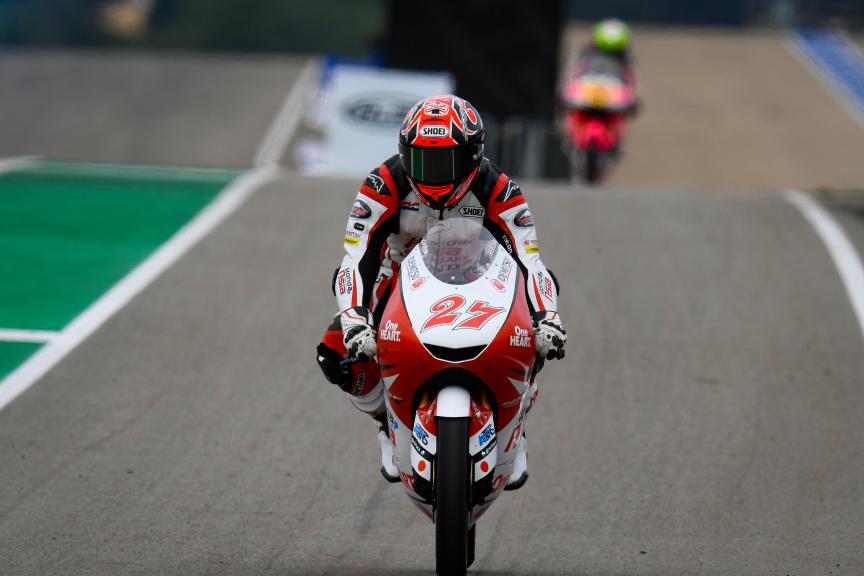 Kaito Toba, Honda Team Asia, HJC Helmets Motorrad Grand Prix Deutschland