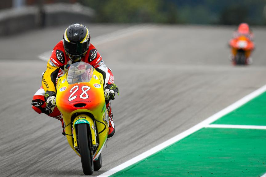 Dirk Geiger, Kiefer Racing, HJC Helmets Motorrad Grand Prix Deutschland