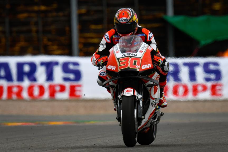 Takaaki Nakagami, LCR Honda Idemitsu, HJC Helmets Motorrad Grand Prix Deutschland