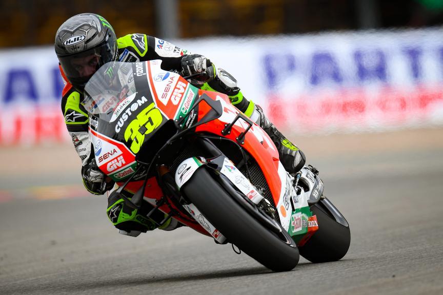Cal Crutchlow, LCR Honda Castrol, HJC Helmets Motorrad Grand Prix Deutschland