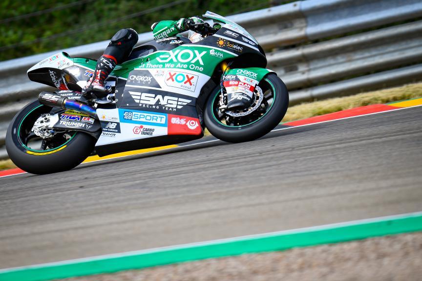 Tetsuta Nagashima, Onexox TKKR SAG Team, HJC Helmets Motorrad Grand Prix Deutschland