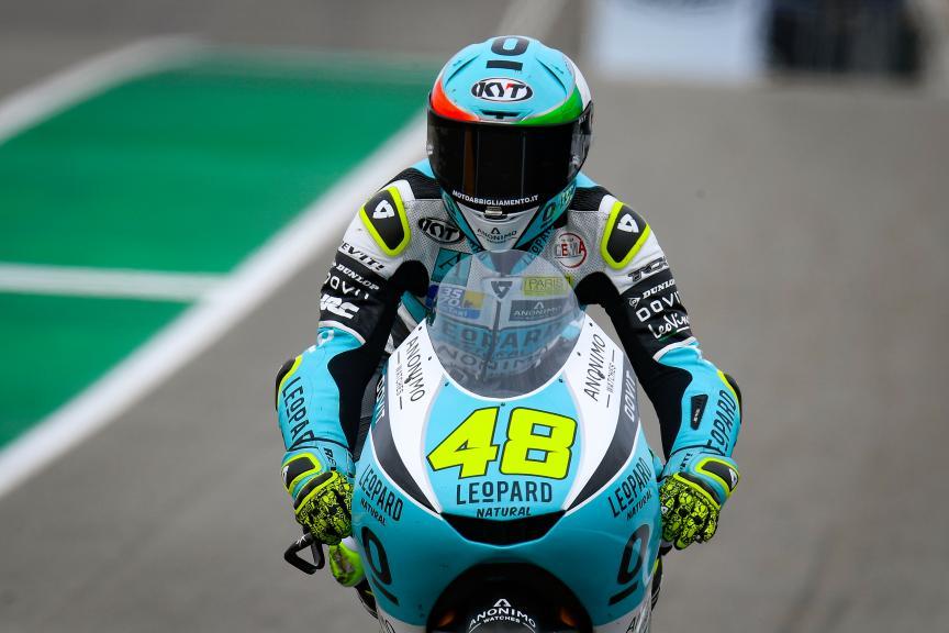 Lorenzo Dalla Porta, Leopard Racing, HJC Helmets Motorrad Grand Prix Deutschland