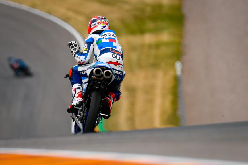 Riccardo Rossi, Kőmmerling Gresini Moto3, HJC Helmets Motorrad Grand Prix Deutschland