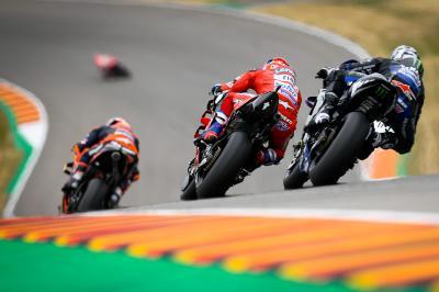 Dominio compartido de Ducati, Honda, Yamaha y KTM en pista