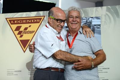 Stefan Dörflinger entra en el Olimpo de los MotoGP™ Legends