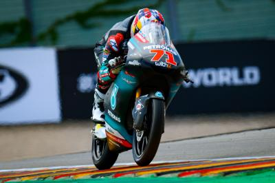 Sasaki steals Sachsenring top spot in Moto3™