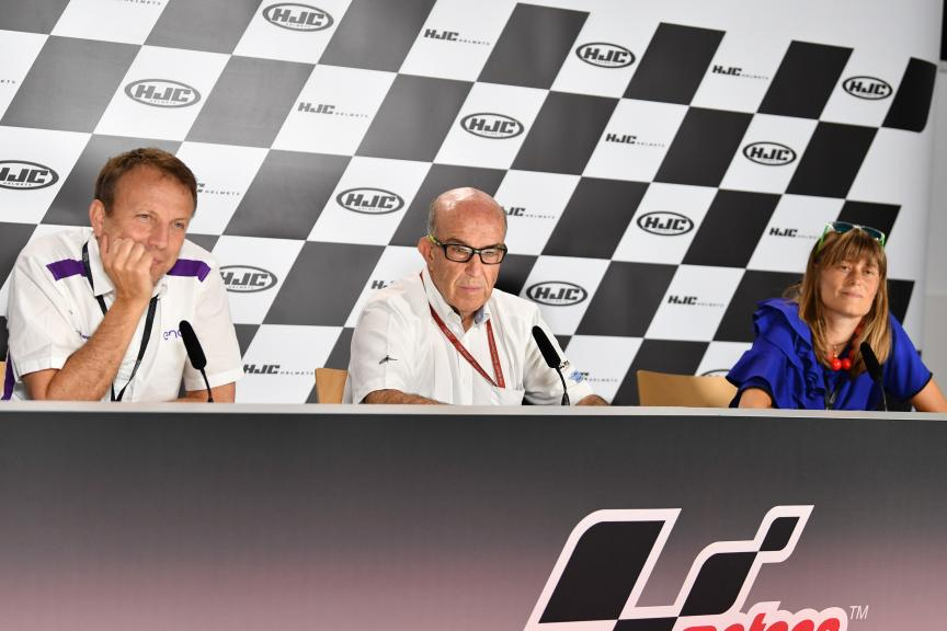 press conference Dorna, Enel, Energica