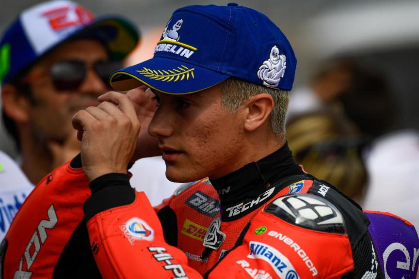 Hector Garzo, Tech3 E-Racing, HJC Helmets Motorrad Grand Prix Deutschland