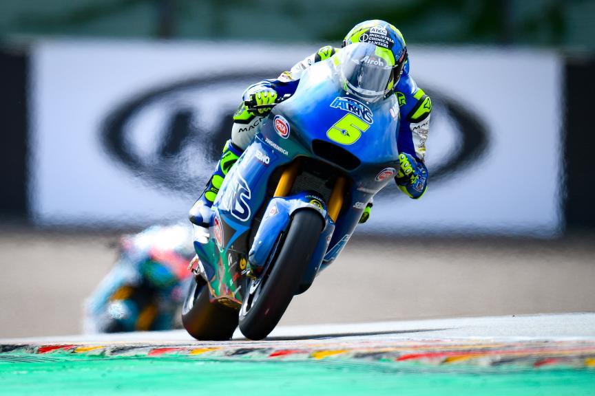 Andrea Locatelli, Italtrans Racing Team, HJC Helmets Motorrad Grand Prix Deutschland