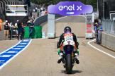 Niccolo Canepa, LCR E-Team, HJC Helmets Motorrad Grand Prix Deutschland