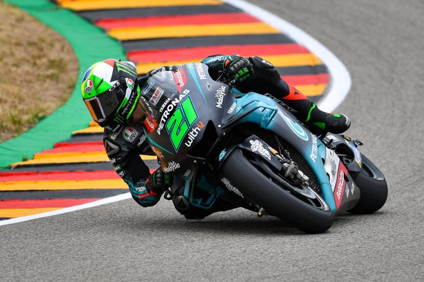 Franco Morbidelli, Petronas Yamaha SRT, HJC Helmets Motorrad Grand Prix Deutschland
