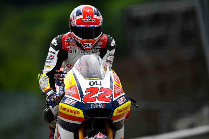 Sam Lowes, Federal Oil Gresini Moto2, HJC Helmets Motorrad Grand Prix Deutschland