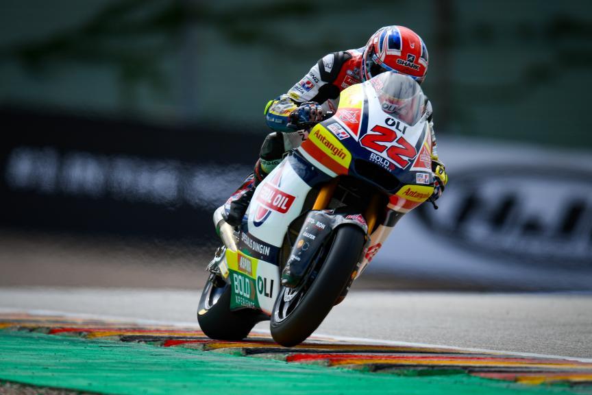 Sam Lowes, Federal Oil Gresini Moto2, HJC Helmets Motorrad Grand Prix Deutschland