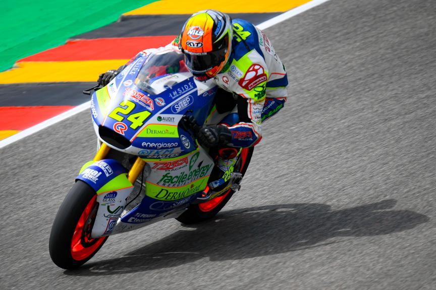 Simone Corsi, Tasca Racing Scuderia Moto2, HJC Helmets Motorrad Grand Prix Deutschland