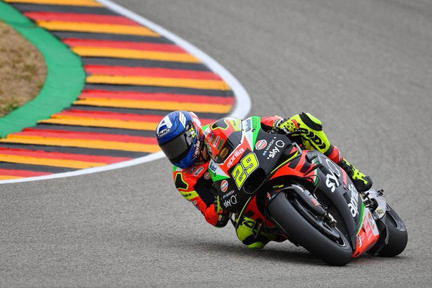 Andrea Iannone, Aprilia Racing Team Gresini, HJC Helmets Motorrad Grand Prix Deutschland