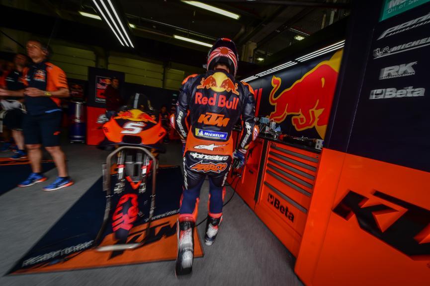 Johann Zarco, Red Bull KTM Factory Racing, HJC Helmets Motorrad Grand Prix Deutschland