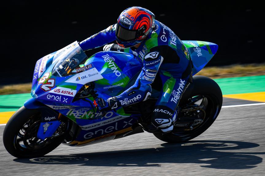Lorenzo Savadori, Trentino Gresini MotoE, HJC Helmets Motorrad Grand Prix Deutschland