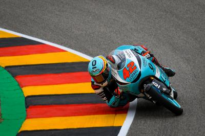 Ramirez sets new fastest-ever lap to top Moto3™ FP3
