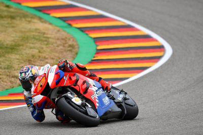Miller, la gran esperanza de Ducati en Alemania