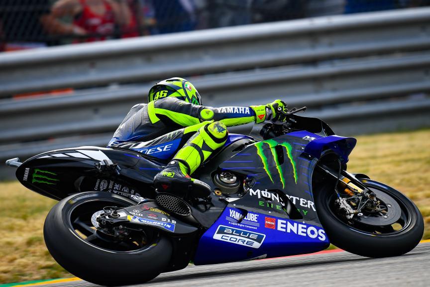 Valentino Rossi, Monster Energy Yamaha MotoGP, HJC Helmets Motorrad Grand Prix Deutschland