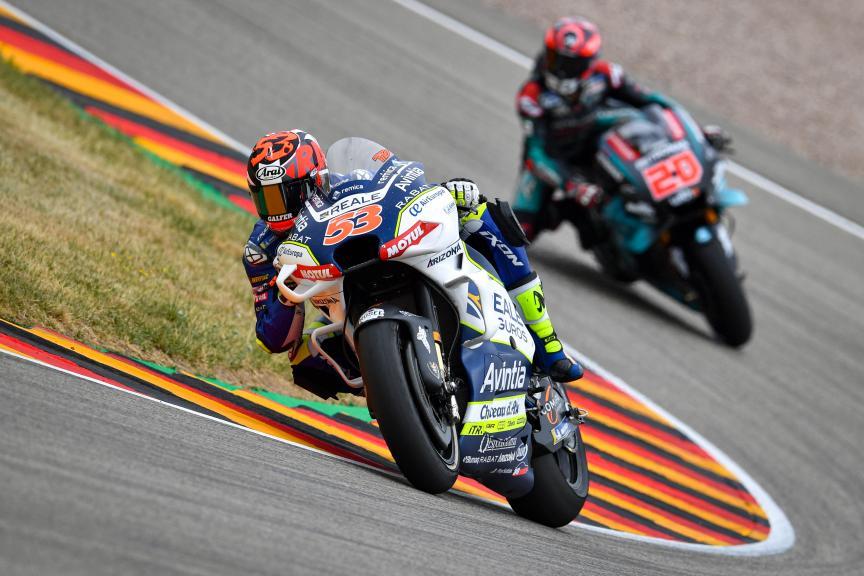 Tito Rabat, Reale Avintia Racing, HJC Helmets Motorrad Grand Prix Deutschland