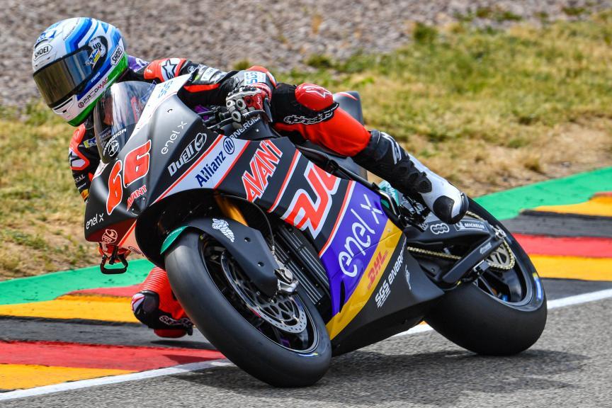 Niki Tuuli, AJO MotoE, HJC Helmets Motorrad Grand Prix Deutschland
