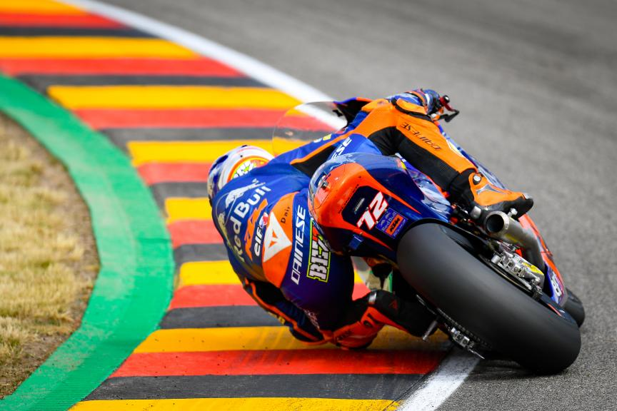 Marco Bezzecchi, Red Bull KTM Tech 3, HJC Helmets Motorrad Grand Prix Deutschland