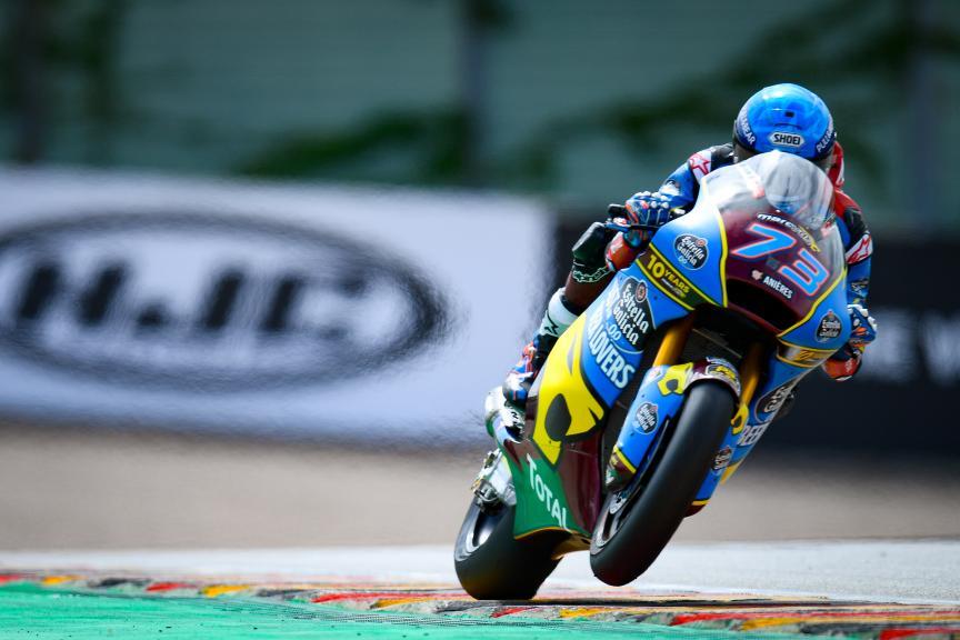 Alex Marquez, EG 0,0 Marc Vds, HJC Helmets Motorrad Grand Prix Deutschland