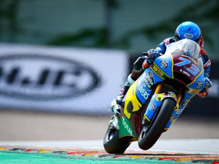 Moto2, Free Practice, HJC Helmets Motorrad Grand Prix Deutsc