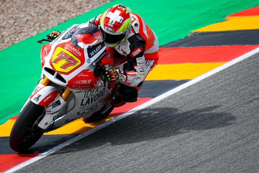 Dominique Aegerter, MV Augusta Idealavoro Forward, HJC Helmets Motorrad Grand Prix Deutschland