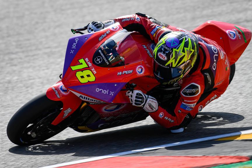Kenny Foray, Tech3 E-Racing, HJC Helmets Motorrad Grand Prix Deutschland