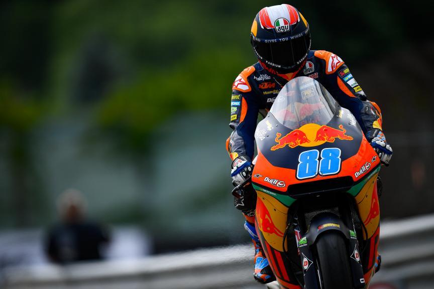 Jorge Martin, Red Bull KTM Ajo, HJC Helmets Motorrad Grand Prix Deutschland