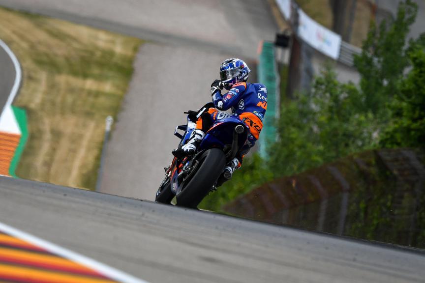 Miguel Oliveira, Red Bull KTM Tech 3, HJC Helmets Motorrad Grand Prix Deutschland