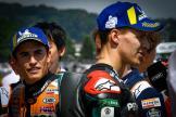 Fabio Quartararo, Marc Marquez, HJC Helmets Motorrad Grand Prix Deutschland
