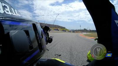 Rossi domine la Q1... mais dans le box Yamaha il y a urgence