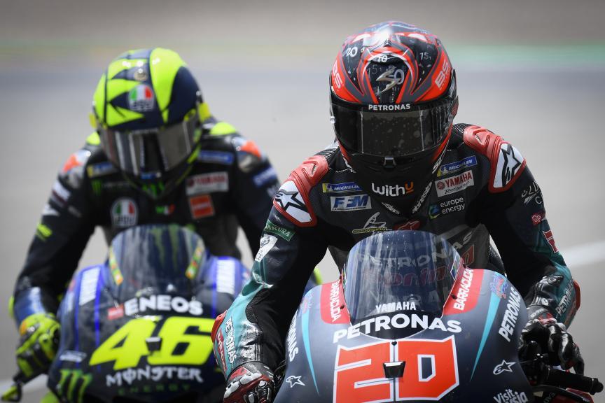 Fabio Quartararo, Valentino Rossi, HJC Helmets Motorrad Grand Prix Deutschland