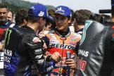 Maverick Viñales, Marc Marquez, HJC Helmets Motorrad Grand Prix Deutschland